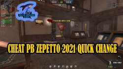 Cheat PB Zepetto 12 Maret 2021 Quick Change