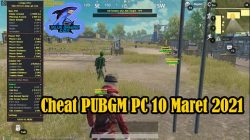 Cheat PUBGM PC 10 Maret 2021