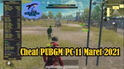 Cheat PUBGM PC 11 Maret 2021