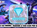 Free Fire 999999+ Diamonds & Coins Gratis Mod Apk